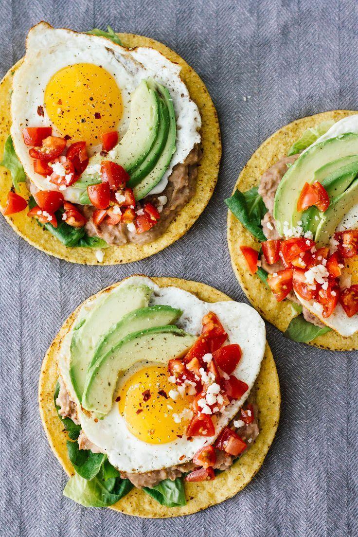 10-Minute Huevos Rancheros Breakfast Tostadas - Jar Of Lemons