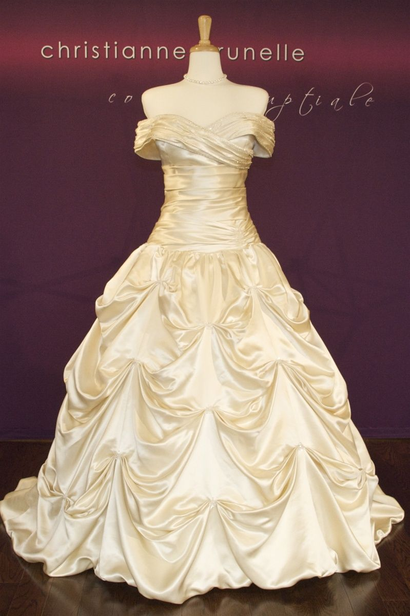Yup i want to look like belle at my wedding done and done