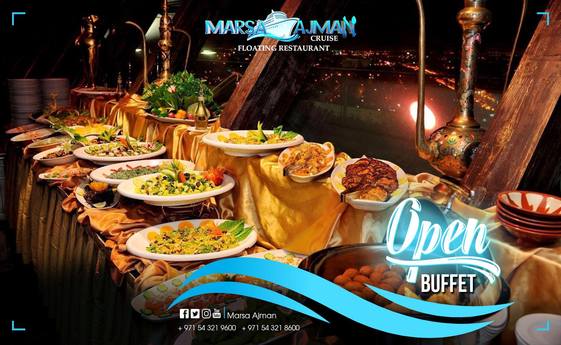 Pin By Marsaajmancruise On My Saves Floating Restaurant Open Buffet Buffet