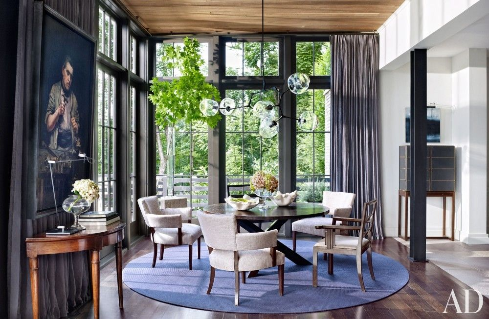 Modern Dining Room By Ray Booth In Nashville TN