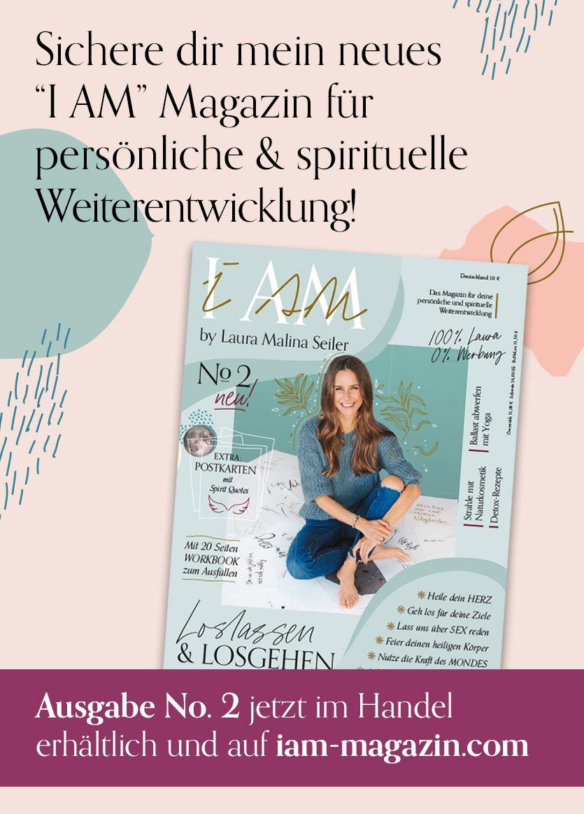 I Am Magazin Laura Seiler Life Coaching Buch Tipps Podcast Coaching