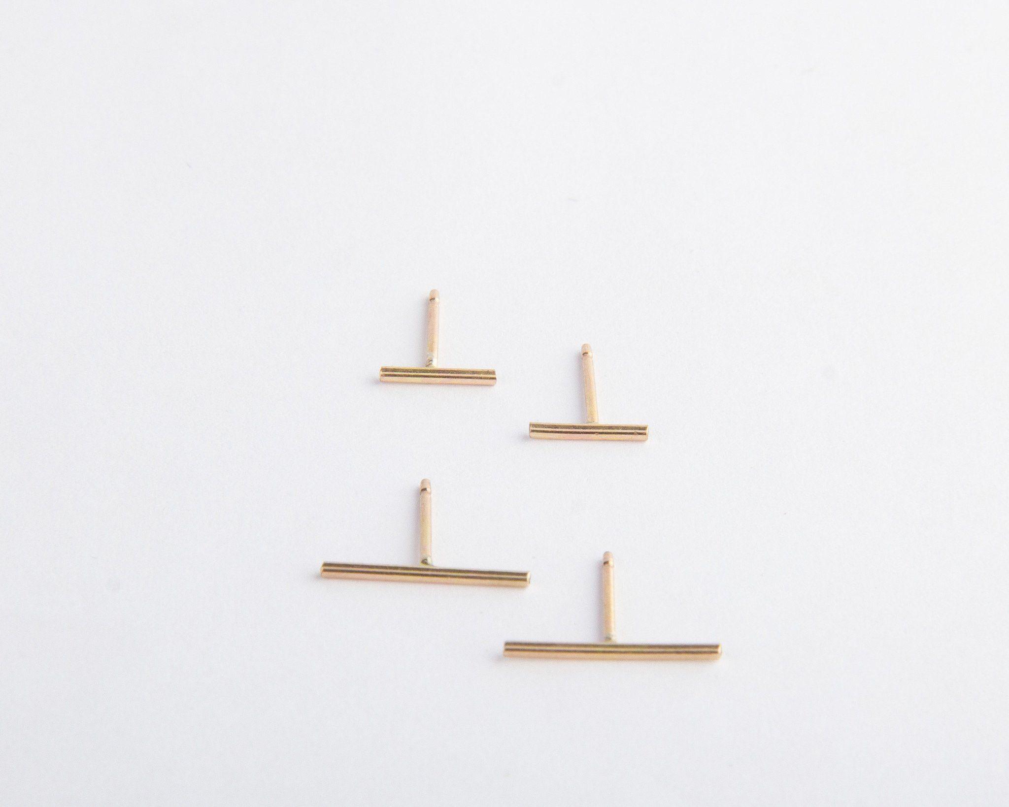 Long + Short Line Earrings