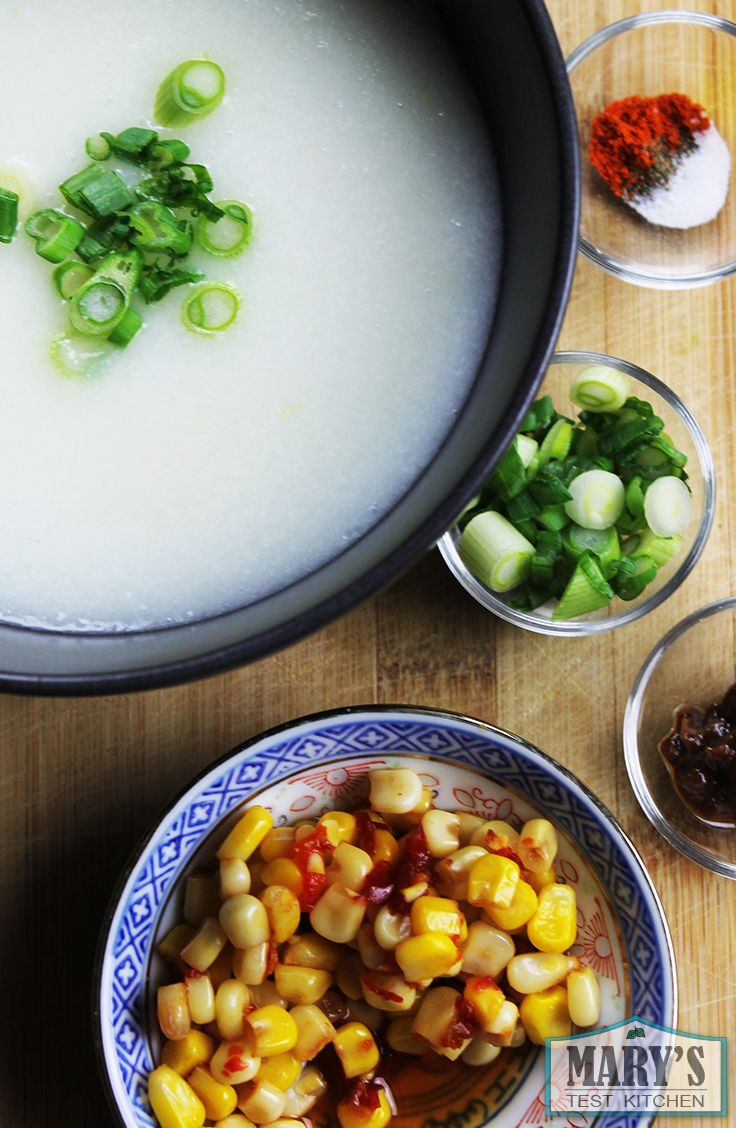 Classic chinese congee printable recipe httpmarystestkitchen food classic chinese congee printable recipe forumfinder Image collections