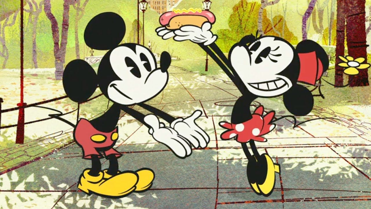 Mickey Mouse In New York Weenie A New Animated Short By Disney Mickey Mouse Cartoon Mickey Mouse Mickey Mouse Art