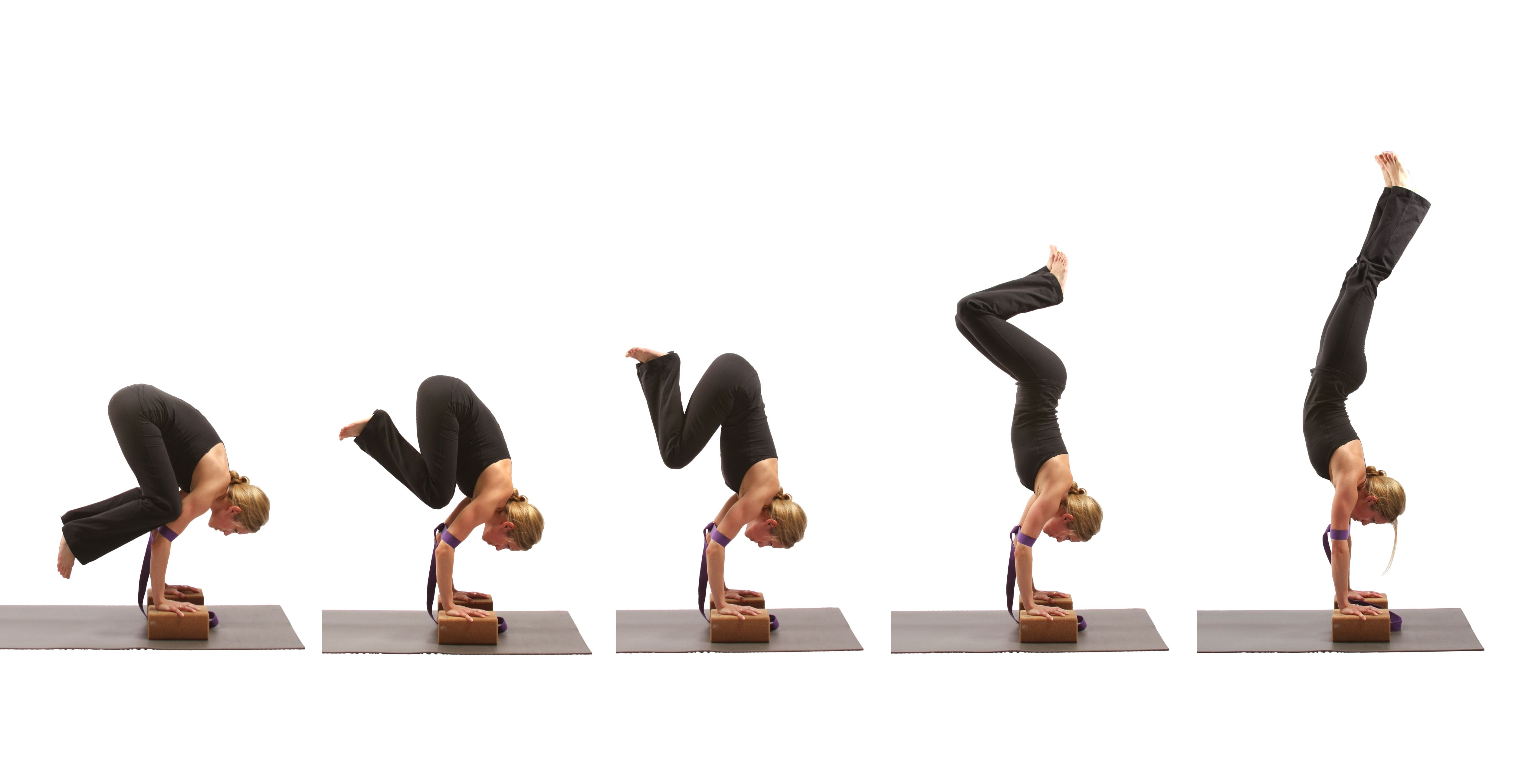 Yoga Handstand Progression