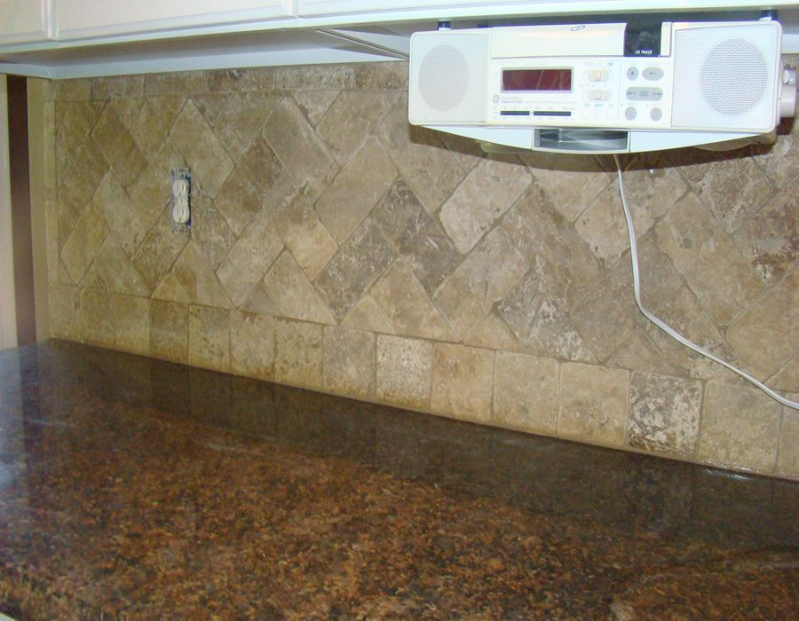 Travertine Tile Backsplash Atlanta Bathroom Remodleing Duluth Bath