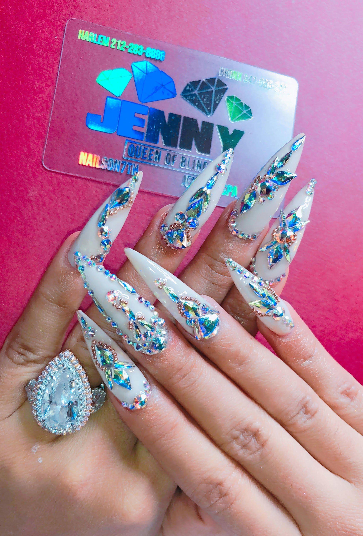 Cardi b nail art