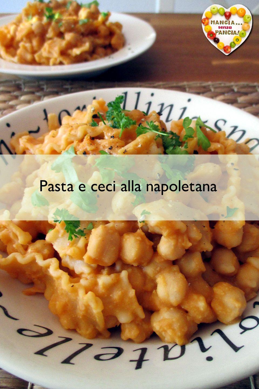 Pasta e ceci leggera alla napoletana #magariungiorno
