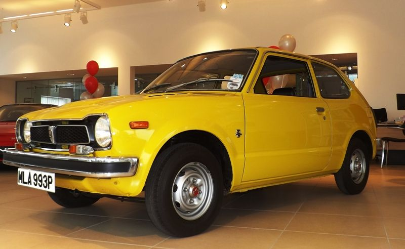 A 1974 Honda Civic | Honda civic, Honda cars, Honda