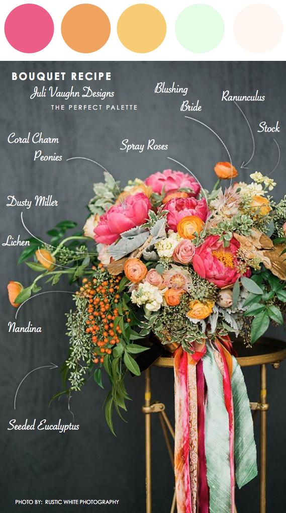 Bouquet Recipe: Juli Vaughn Designs