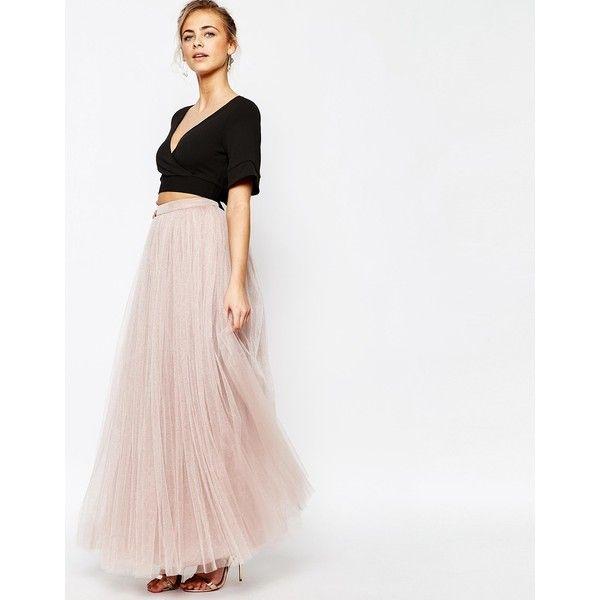 Little Mistress Maxi Tulle Skirt (1 415 ZAR) ❤ liked on Polyvore featuring  skirts - Little Mistress Maxi Tulle Skirt (1 415 ZAR) ❤ Liked On Polyvore