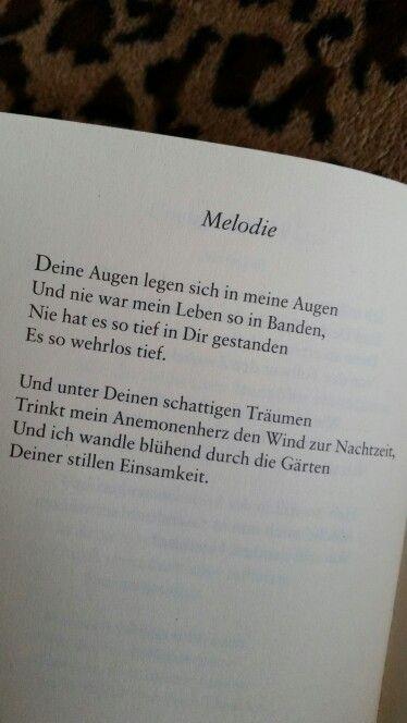 Aus: Else Lasker-Schüler / Liebesgedichte
