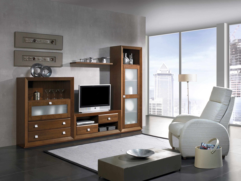 Mueble sal n hermes18 950 muebles salon muebles precio mueblesmadrid muebles modulos - Precio lacar muebles ...