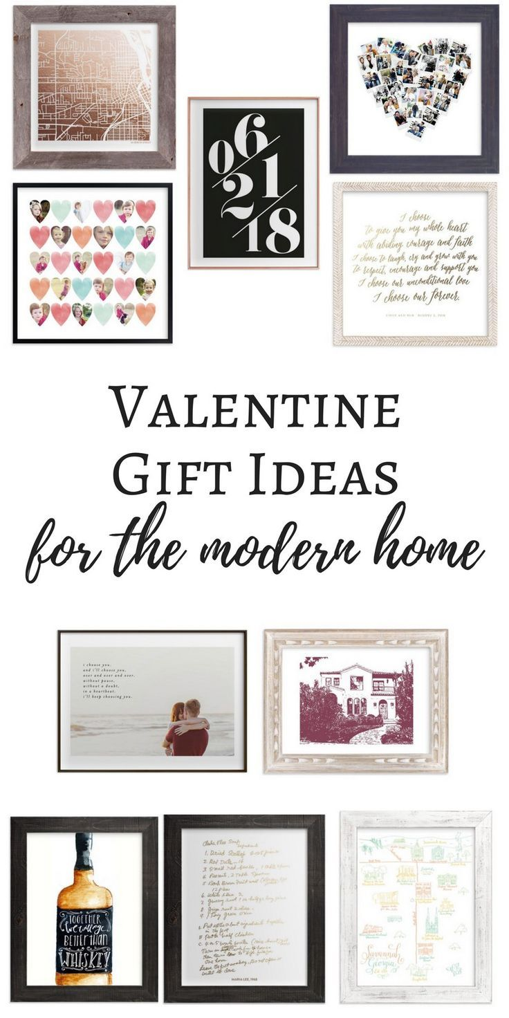 Need some gift ideas for a loved one this Valentine's day? Find sentimental pieces that will also look amazing on the walls of your loved ones in the Valentine Gift Ideas for the Modern Home // custom art // home decor