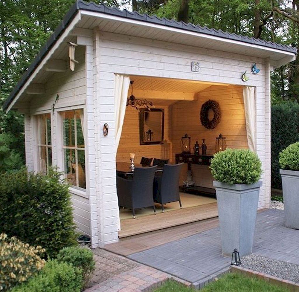 72 incredible and cozy backyard studio shed design ideas