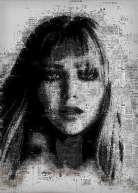 Jennifer Lawrence   Displate thumbnail