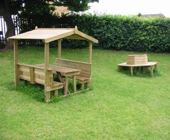 This One Wins The Award Of Most Sheltered Blog Outdoor Decorating Ideas For  Your Covered Porch · Kids Picnic Table PlansPicnic ...