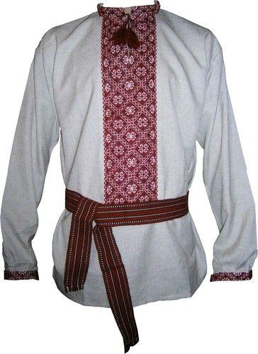 Козацька вишиванка (чоловіча вишита сорочка)  3eea2024060ae