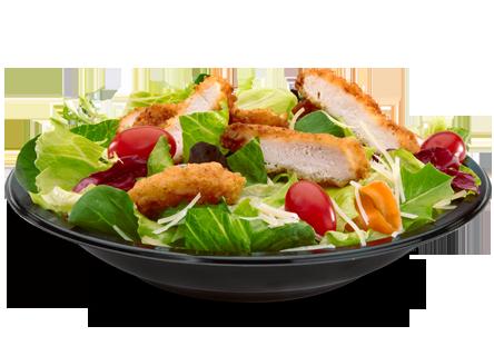 Premium Caesar Salad With Crispy Chicken Mcdonald S W O Dressing 350cals 20g Net Carbs Mcdonalds Food Menu Food Mcdonald Menu