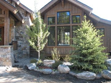 Rustic landscape design ideas pictures remodel and for Rustic landscape ideas