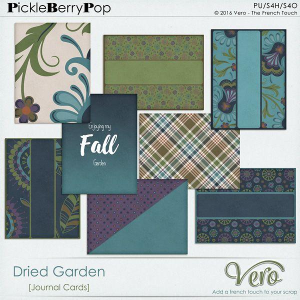 Dried Garden [Journal Cards] By Vero