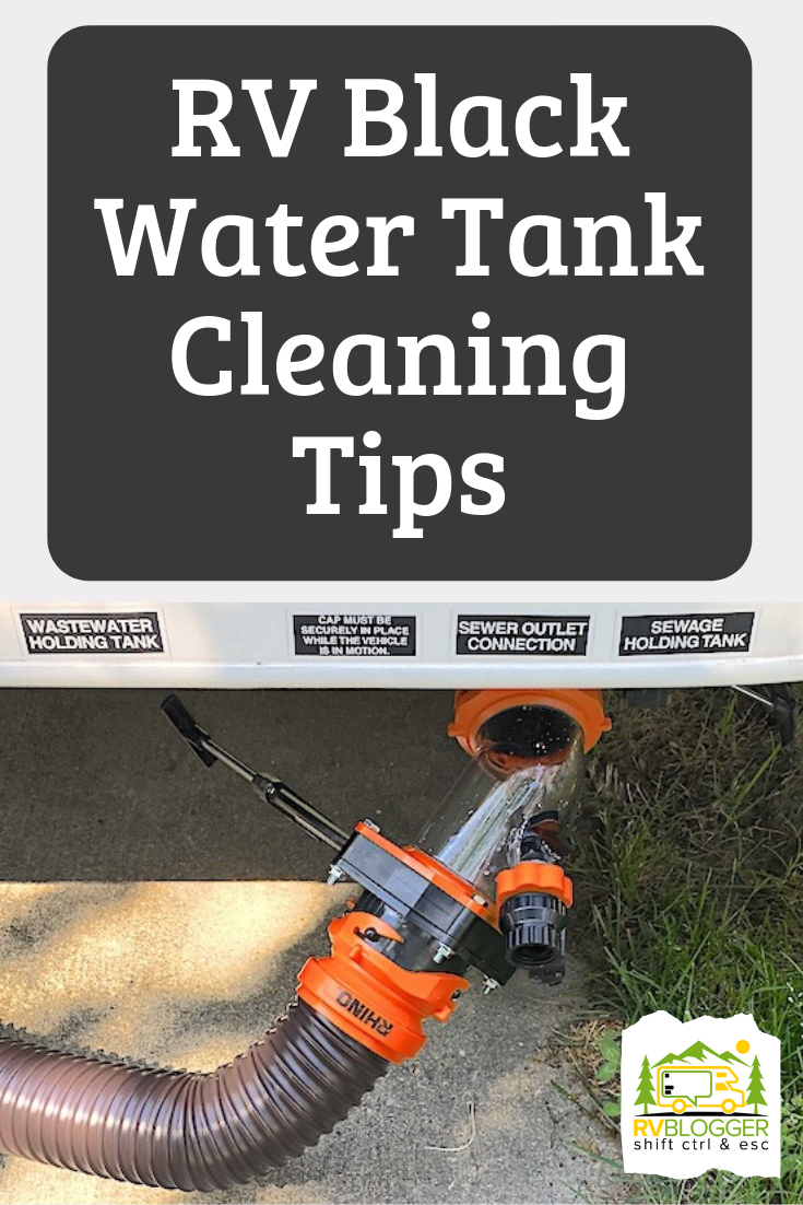 Rv Black Water Tank And Sensor Cleaning Tips Cleaning Hacks Water Tank Rv Camping Tips