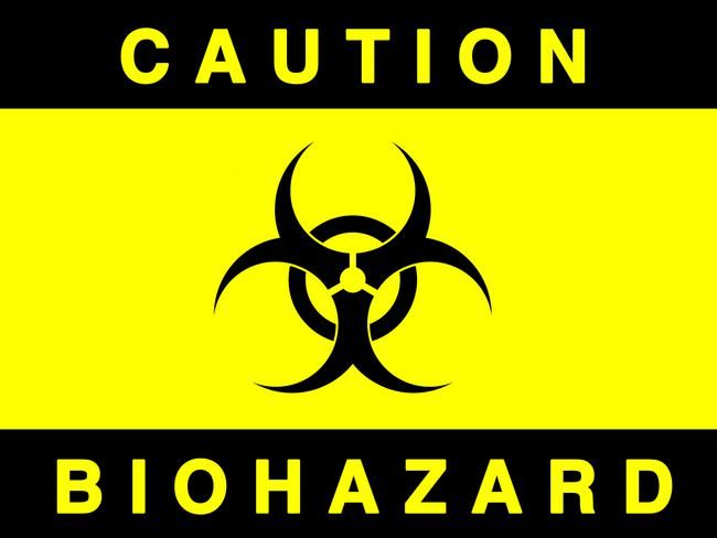 biohazard symbol printable halloween pinterest science party