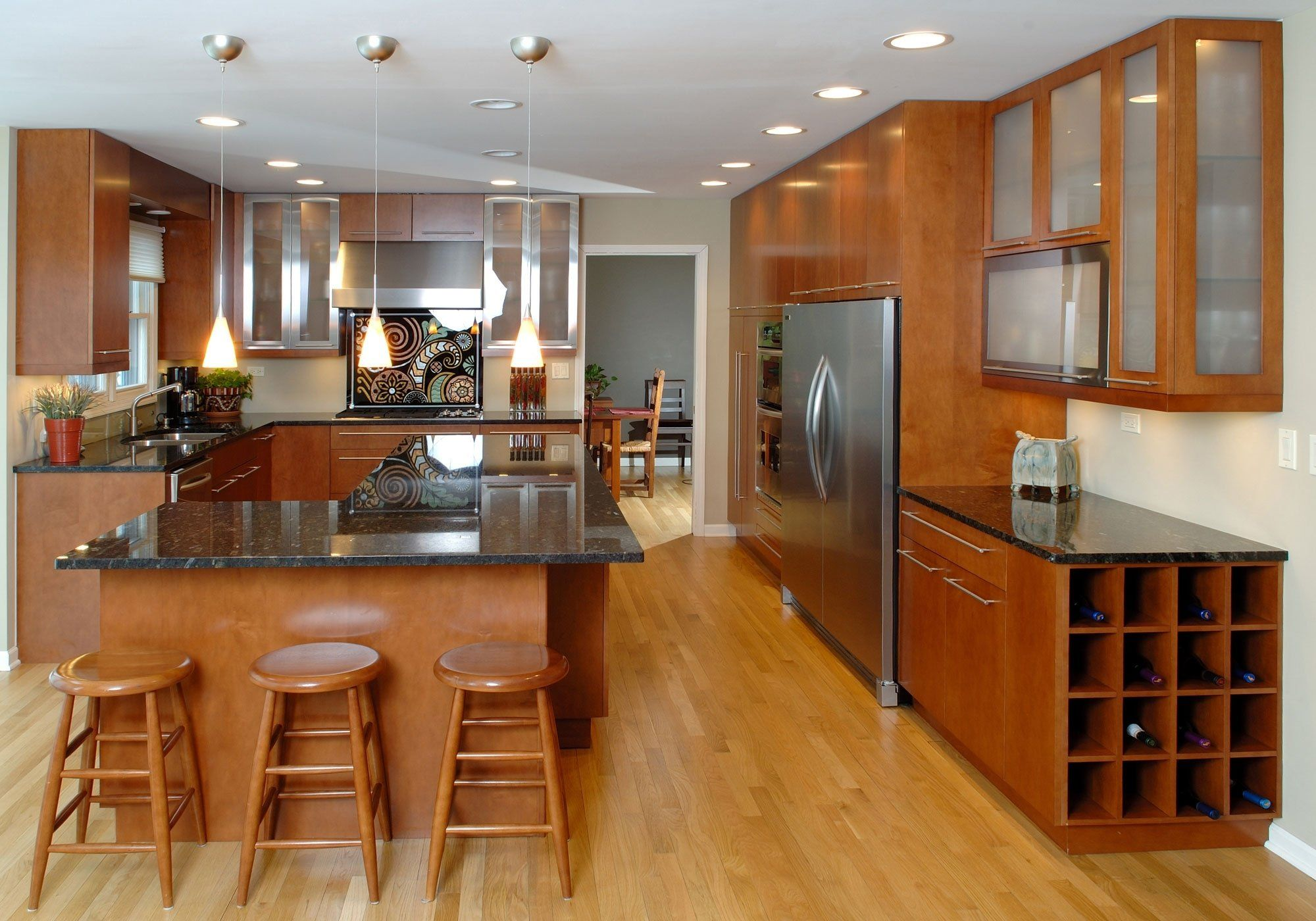 White Kitchen With Light Maple Floors Wonderful Maple Kitchen Cabinets With Dark Wood Floo Quality Kitchen Cabinets Maple Kitchen Cabinets Kraftmaid Kitchens