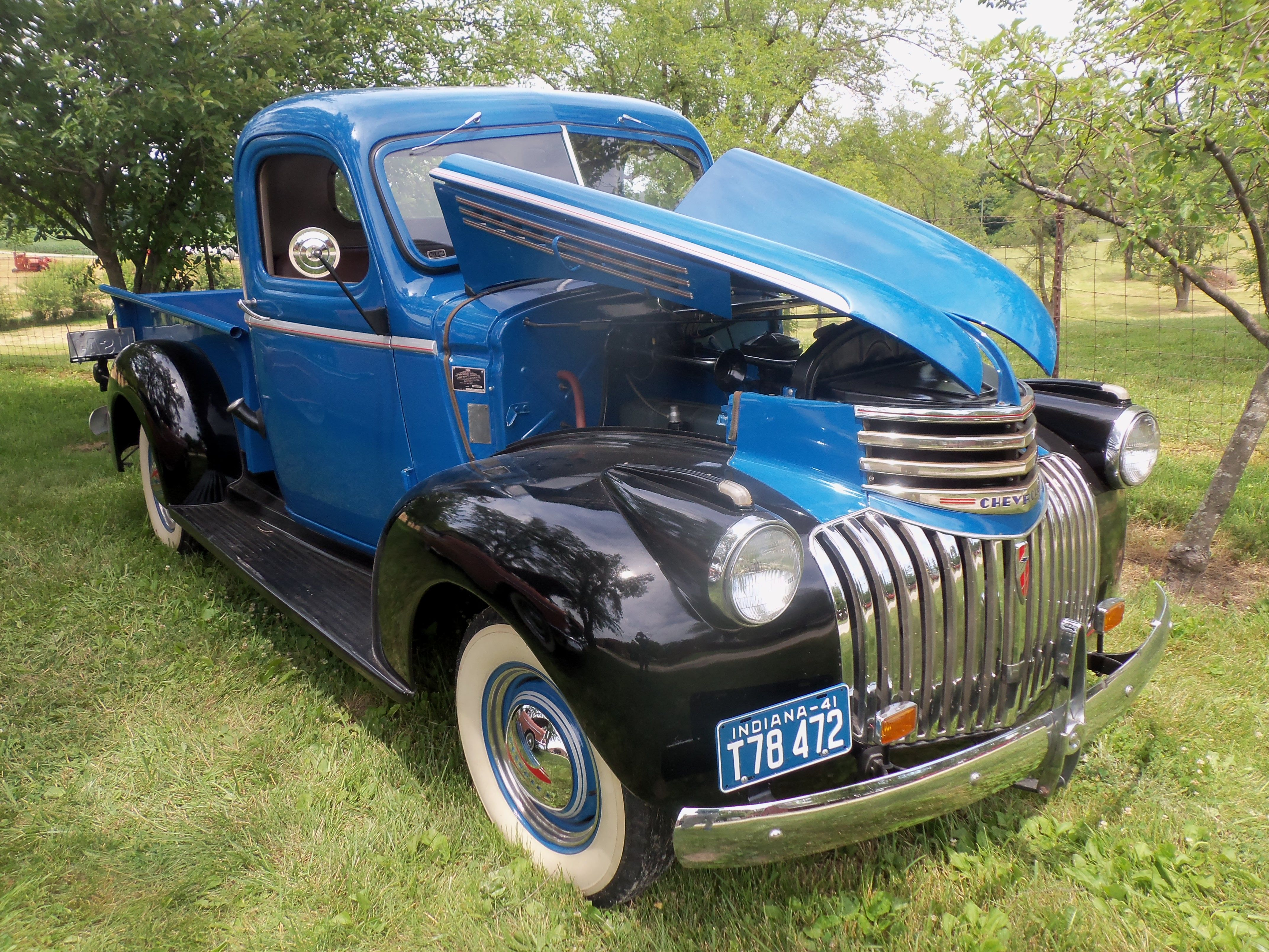 1941 1946 Chevy Truck On 1946 Chevy Wiring Diagram