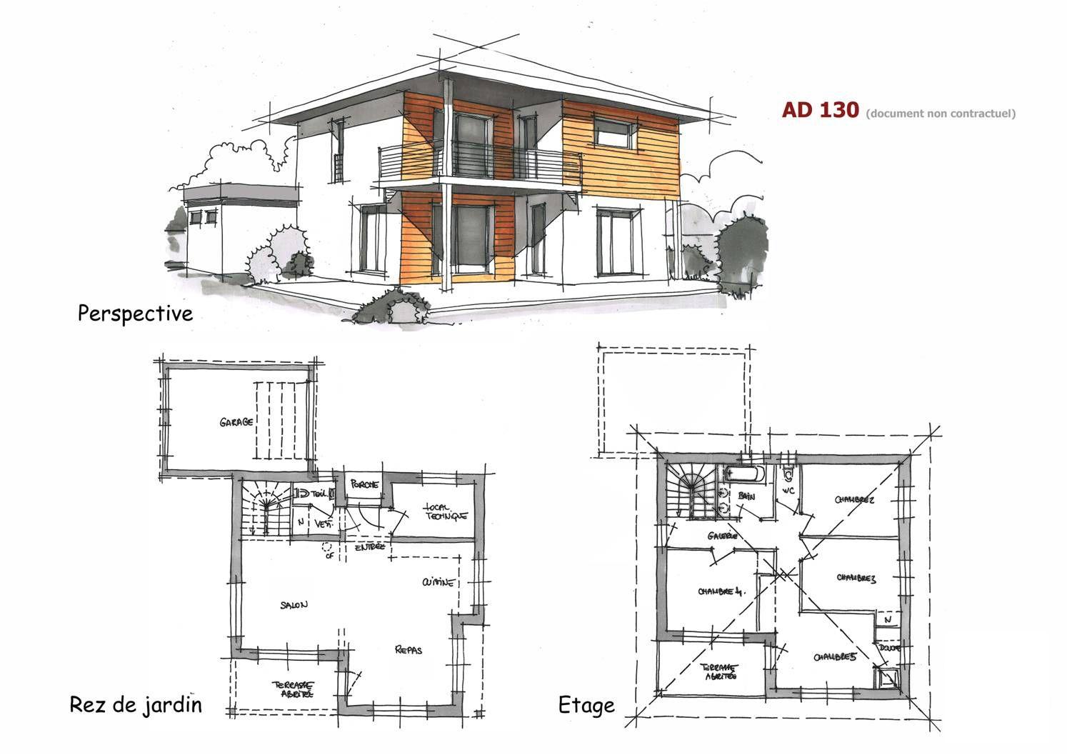 Construction de maisons sur mesure | Maison architecte, Maison, Architecte