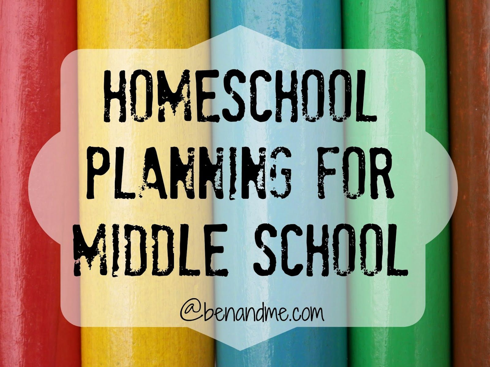 Homeschool Planning For Middle School Goals And