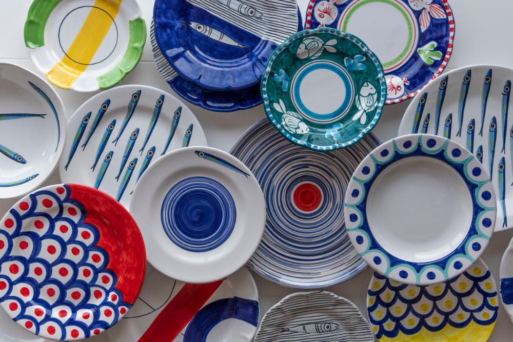 Ceramiche di Vietri da Tavola | Ceramica, Servizi da ...