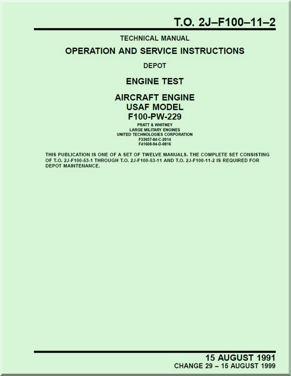 pratt whitney f100 pw 229 aircraft engines operation and service rh pinterest com B-58 Aircraft F100 Aircraft Engine