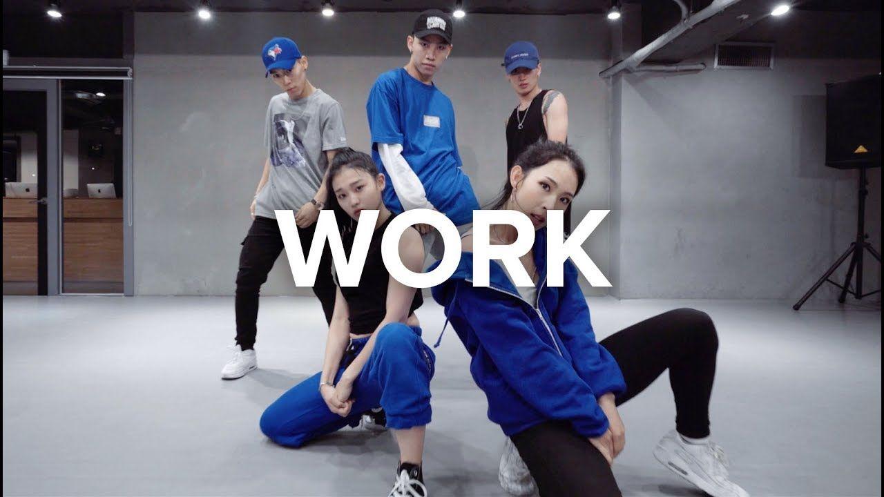 Work Vandalized Cover Rihanna Jinwoo Yoon Choreography