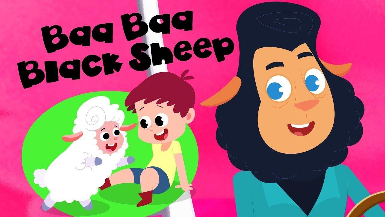 Preebees Baa Black Sheep Nursery Rhymes Videos For Toddlers Children Song By Kids Tv