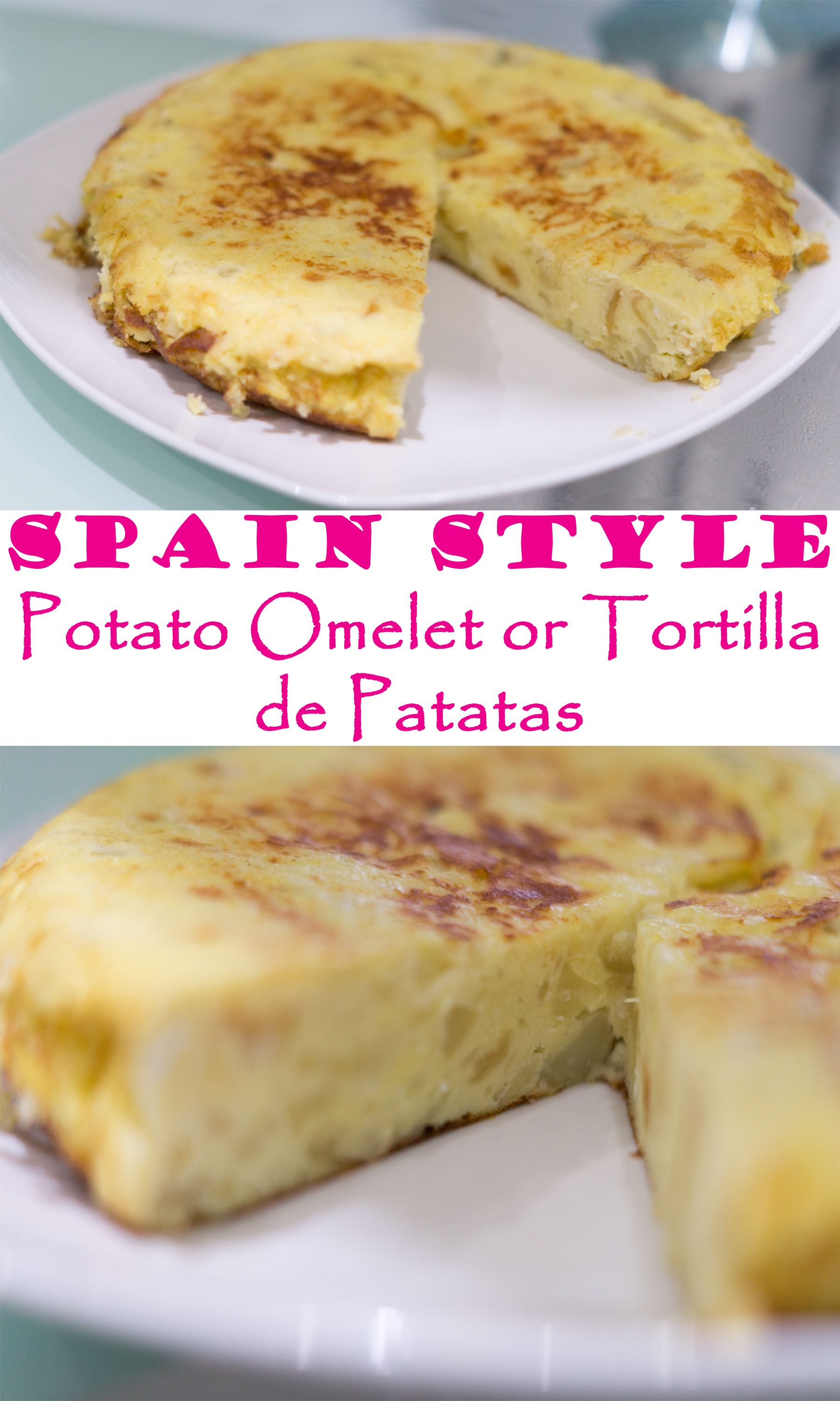 Spain style potato omelet or tortilla de patatas recipe spain style potato omelet or tortilla de patatas have you learned how to make a forumfinder Images