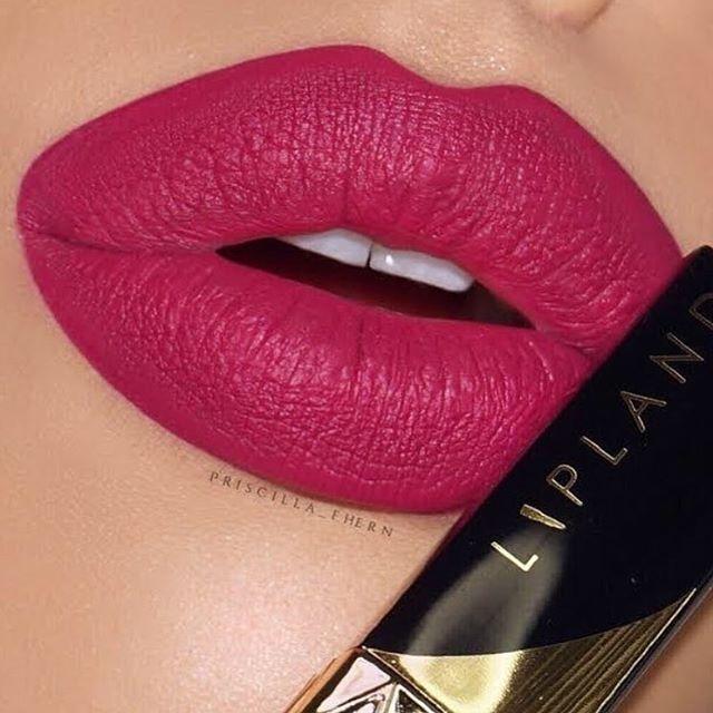 Berry hue lipstick