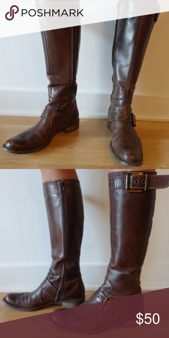 3861db0d6 Vera Gomma brown leather boots (Made in Italy) Beautiful handmade leather  boots from Vera Gomma (Italy). Vera Gomma Shoes Heeled Boots