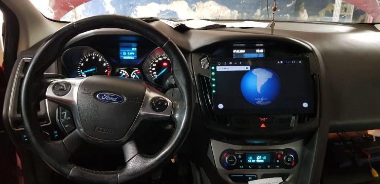 Pantalla Ford Focus Con Android Laminas De Seguridad Ford Focus