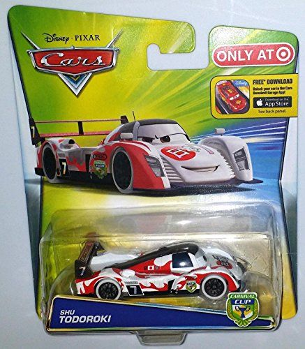 Disney Cars Shu Todoroki Fahrzeug Serie Carnival Cup Djv06 Toy Toys And Games Disney Cars Fahrzeuge Disney