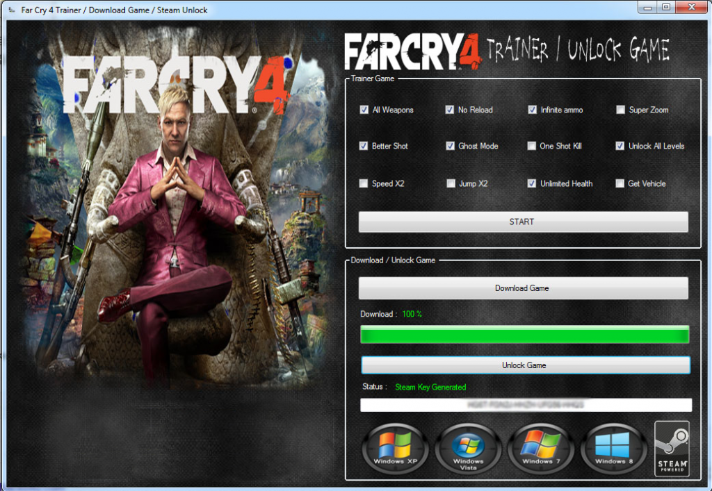 Far Cry 4 Trainer Pc Ps3 4 Xbox 360 One Hacksbook Far Cry 4 Download Hacks Crying