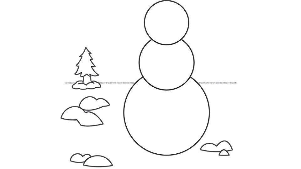 Snowman Coloring Pages Snowman Coloring Pages Snowman Outline