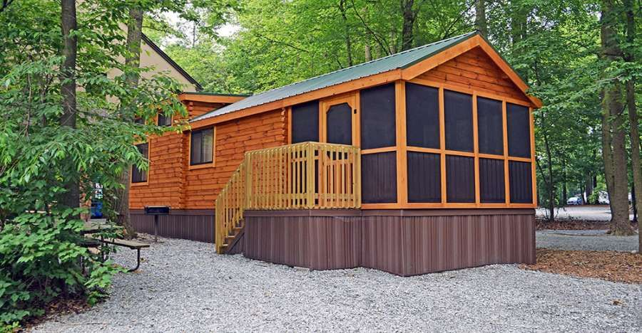Park Model Log Cabins From 21 900 49 000 Log Cabin Cabin Beautiful Small Homes