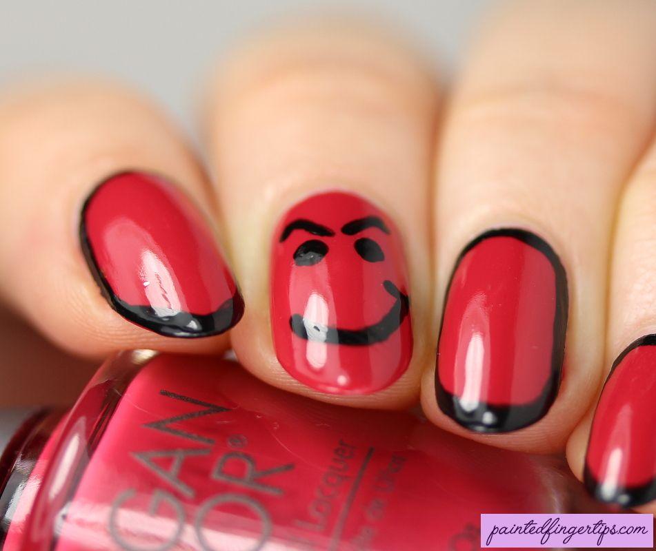 Have A Nice Day Nails Nails Nail Art Cool Nail Art