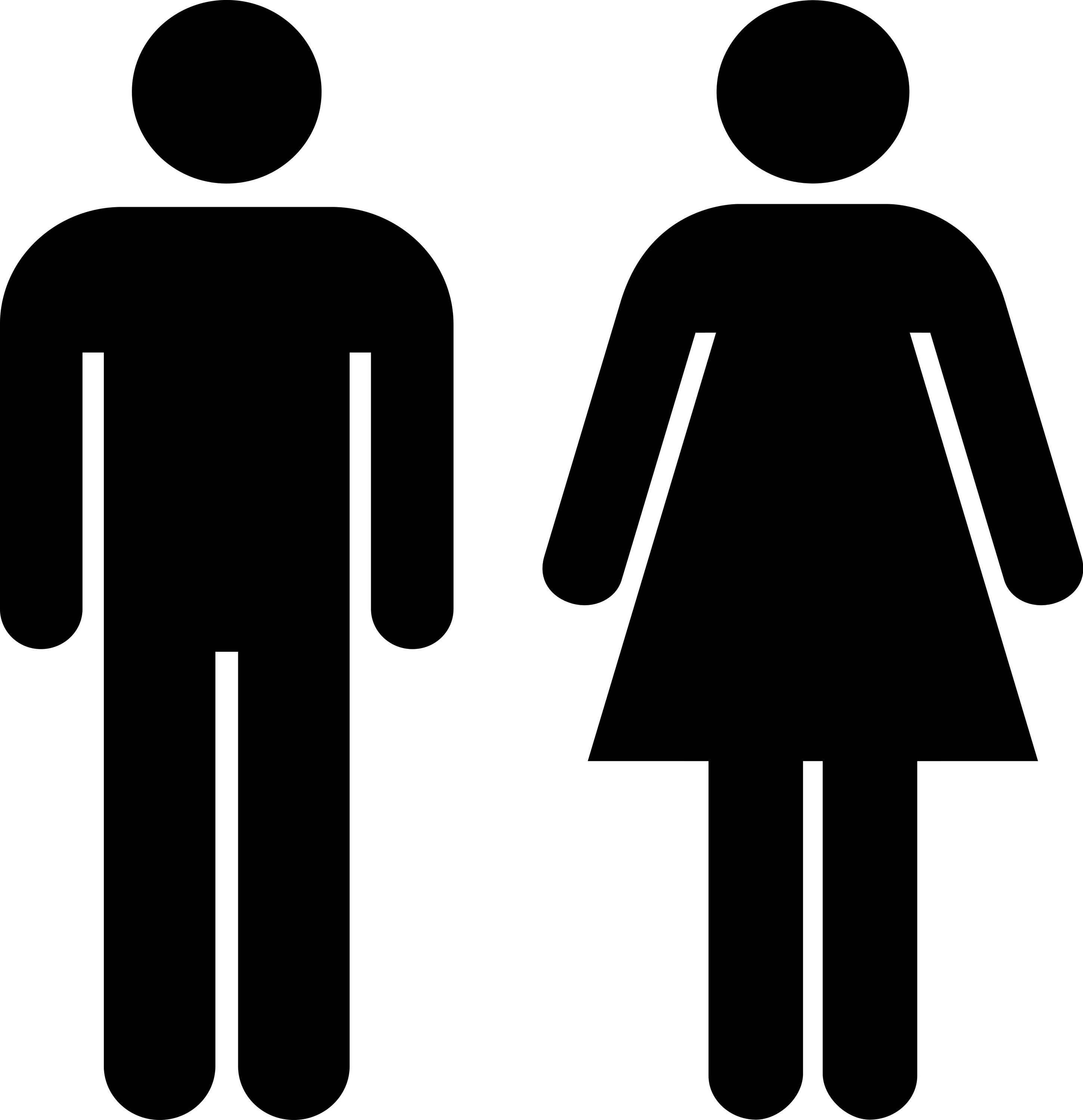 man and woman icon bigstock men woman icon 5443192 jpg 2900 215 3000 iconos 4794