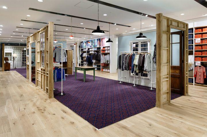 Uniqlo flagship store by Wonderwall, Tokyo store design