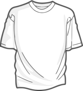 Download Alphabetical Pnghunter Part 744 Shirt Clips T Shirt Design Template Black And White Design