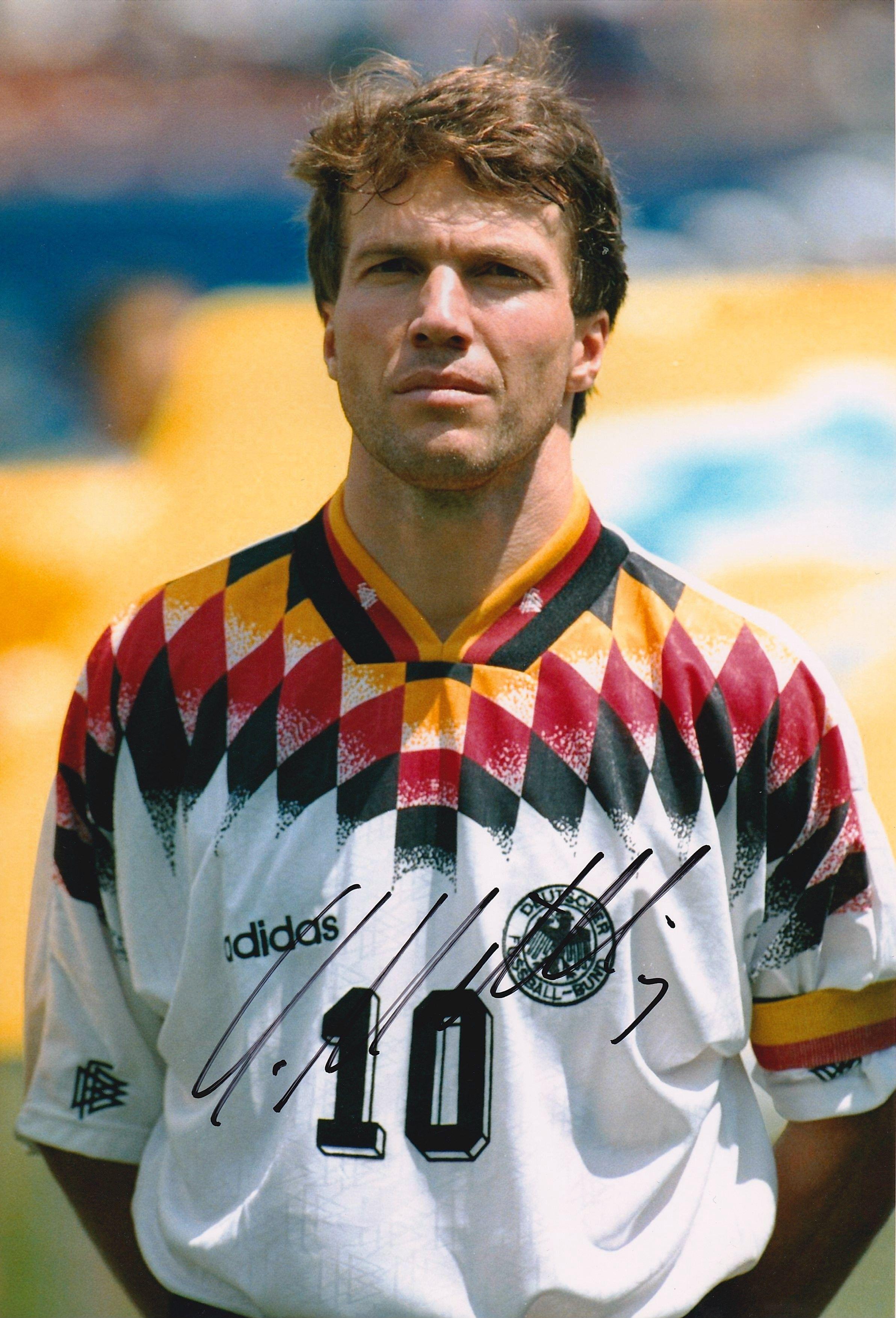 Lothar Herbert Matthäus He has played in five FIFA World Cups