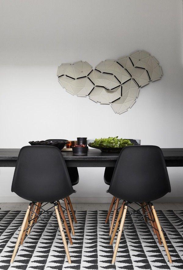 Eames DSW Stuhl schwarz - POPfurniture EAMES DSW Pinterest - design stuhl einrichtungsmoglichkeiten