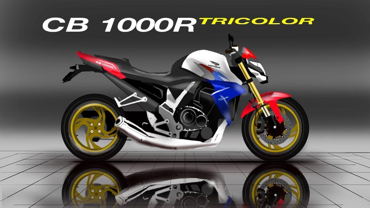 Honda CB 1000R Tricolor